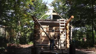 Как да си построим къща от дървени трупи