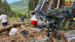Трима в ареста след трагедията с кабинковия лифт в Италия