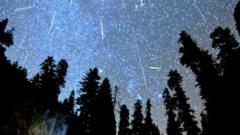 Падащи звезди през август сбъдват желания