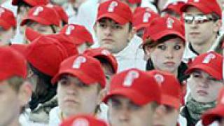 10 000 младежи поздравиха Путин за рождения му ден