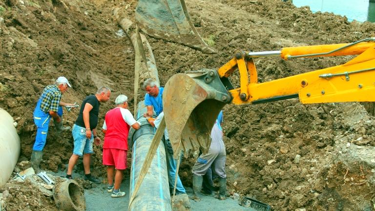Пернишкото село Люлин е без вода четвърти ден