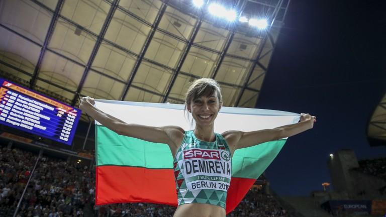 Сребърната медалистка в скока на височина от Европейското първенство в