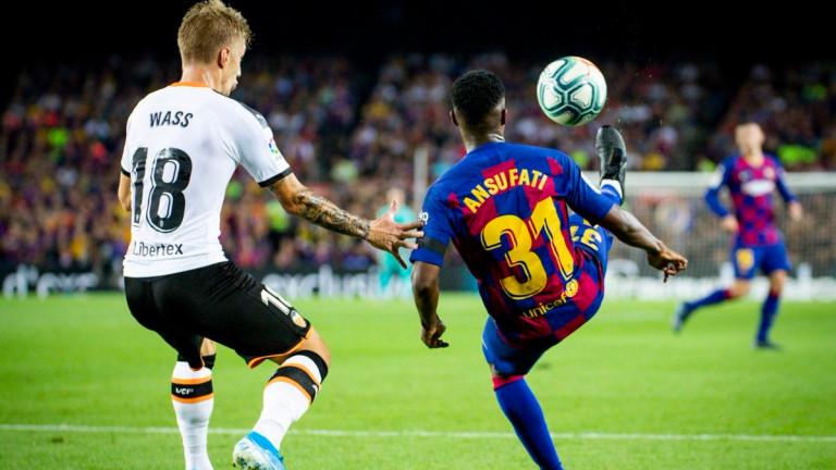 Барселона няма да може да разчита на младия си футболист