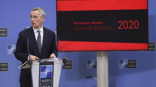 Столтенебрг отчете, че светът е заплашен от Русия, Китай и измененията в климата