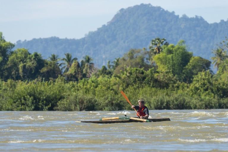 """Кадър от епизода """"Могъщата река Меконг в Лаос"""""""