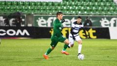 Лудогорец - Локомотив (Пловдив) 2:1, гол на Чибота