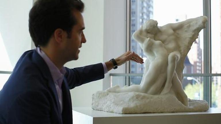 Продадоха скулптура на Роден за рекордна сума