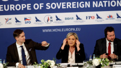 Марин льо Пен обидена от въпроси, че партията ѝ е финансирана от Русия