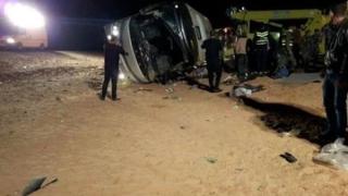17 загинали при автобусна катастрофа в Египет