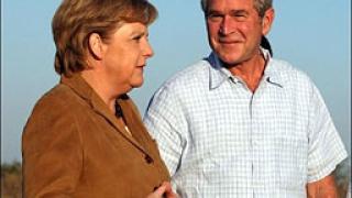 Буш е в Германия
