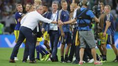 Германците се извиниха на шведите заради адреналина след края на мача
