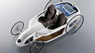 Mercedes се връща в миналото с концепция (галерия)
