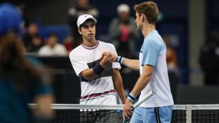 Адриан Андреев остана на крачка от сензацията срещу 45-ия в световната ранглиста