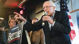 Бърни Сандърс води със 7% на Джо Байдън преди днешното гласуване в Айова