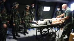 Медицина под куршумите - ВМА ще тренира военни медици в симулация на бойна обстановка