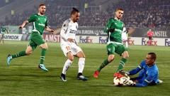 Лудогорец - Истанбул Башакшехир 1:2, Марселиньо връща разградчани в мача!