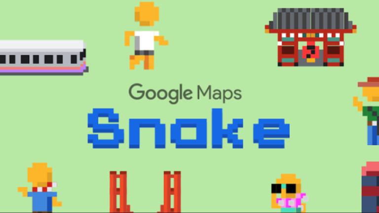 Как да играем Snake в Google Maps