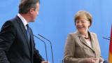 Меркел и Камерън са за запазването на санкциите срещу Русия