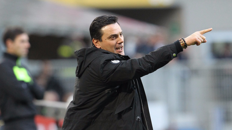 Ръководството на Милан обмисля възможността да върне Винченцо Монтела на