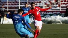 ГЛЕДАЙ ТУК: ЦСКА 2:0 Струмска слава, Рубен Пинто удвои от дузпа