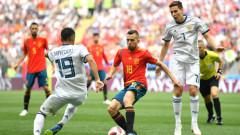 Испания - Русия 1:1, победителят ще бъде решен с дузпи