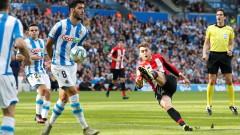 Реал (Сосиедад) победи трудно Атлетик (Билбао) с 2:1