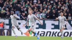Лудогорец е номер едно в Лига Европа