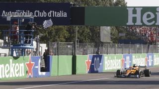 Даниел Рикиардо спечели Гран При на Италия