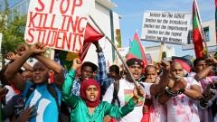 Американка убита при антиправителствени протести в Етиопия