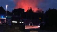 Голям пожар в училище в Източен Лондон