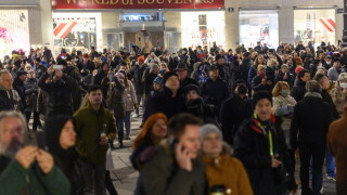 Задържани и във Виена на протест срещу мерките за COVID-19
