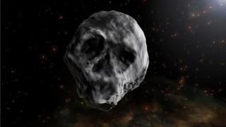 Астероид-череп ще прелети край Земята за Хелуин