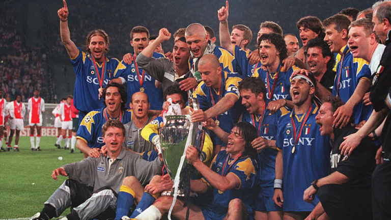 Сезон 1995/96: Storia di un grande amore..
