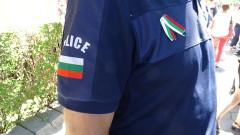 Десетки полицаи на протест в Бургас