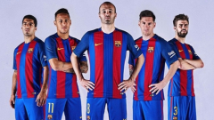 Новите екипи на Барселона - в памет на Кройф