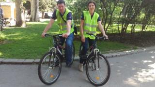 Столични инспектори с велосипеди следят реда и чистотата в паркове