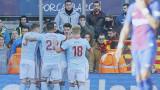 Барселона - Селта 2:2 (Развой на срещата по минути)
