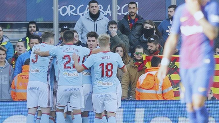 Футболистът на испанския Селта Пионе Систо може да бъде сполетян