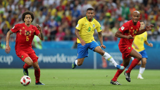 Бразилия - Белгия 1:2 (Развой на срещата по минути)
