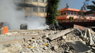 Два взрива разтърсиха центъра на Дамаск