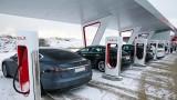 Tesla покрива цяла Европа със супербързи зарядни станции през 2019 година