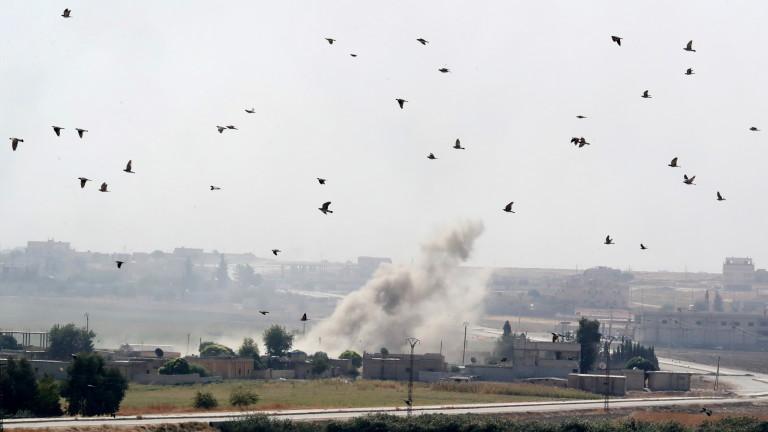 Ожесточени сражения между правителствените сили и бунтовниците в Сирия
