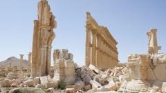 Москва показа нови разрушения в древния Палмира