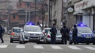 Полиция блокира Благоевград