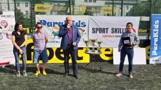Зам.-министър Стоян Андонов откри футболен турнир в подкрепа на деца в неравностойно положение