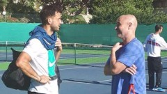 Григор Димитров тренира с Андре Агаси в Атланта