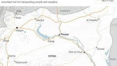 """""""Ислямска държава"""" се местят от Ракка в Дейр ез Зор"""