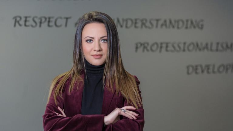 Лилия Димитрова, главен изпълнителен директор на Frontex International