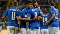 Италия се развихри срещу Лихтенщайн, продължава да дели върха с Ла Фурия