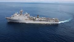 САЩ насочиха десантен кораб към Черно море